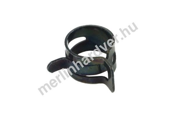 Tömlőbilincs rugós 15-17mm - fekete
