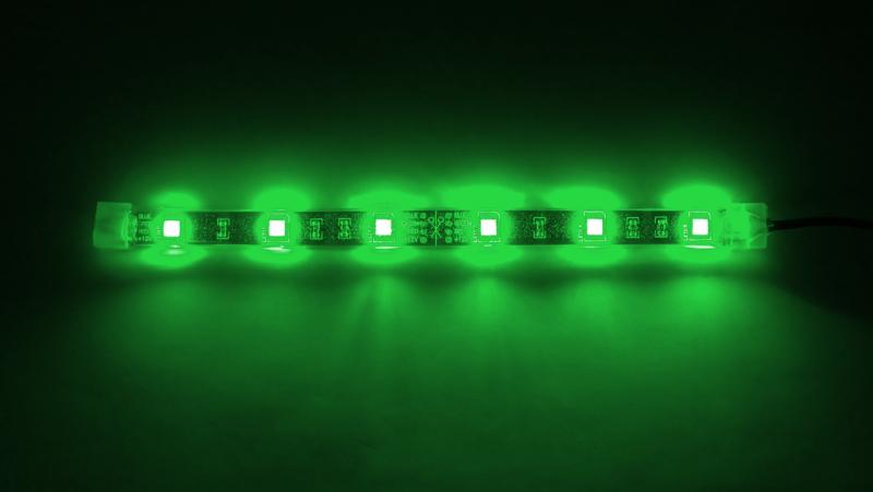 Bitfenix Alchemy Aqua 6x LED Strip 20cm - Zöld