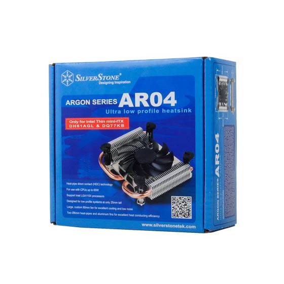 SilverStone Argon SST-AR04 Thin-Mini-ITX CPU hűtő
