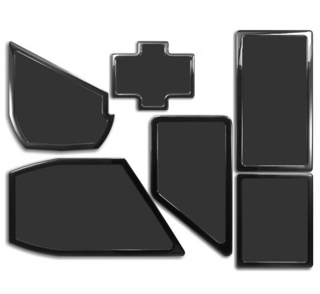 Demciflex porszűrő készlet NZXT Phantom 530 - fekete