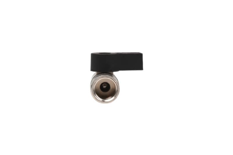 Alphacool 2-utas golyóscsap G1 / 4 - Chrome