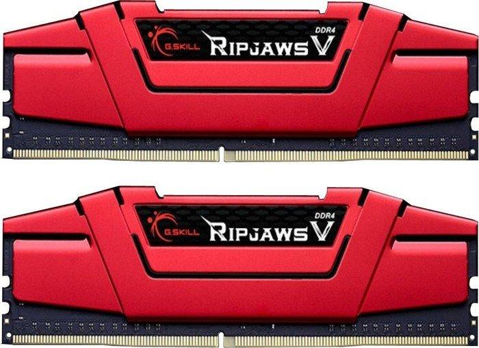 G.Skill Ripjaws V 8GB (2x4GB) DDR4-2400 Kit F4-2400C15D-8GVR