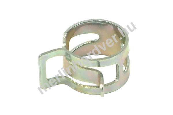 Tömlőbilincs rugós 17-19mm - ezüst
