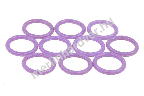 Phobya O-gyűrű 11,1 x 2 mm (G1 / 4 Coll) - UV aktív Lila 10 db.