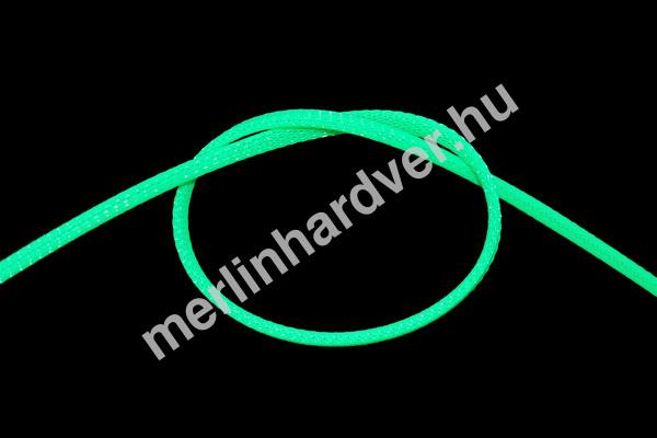 Phobya Flex Sleeve 6mm UV Zöld - 1m