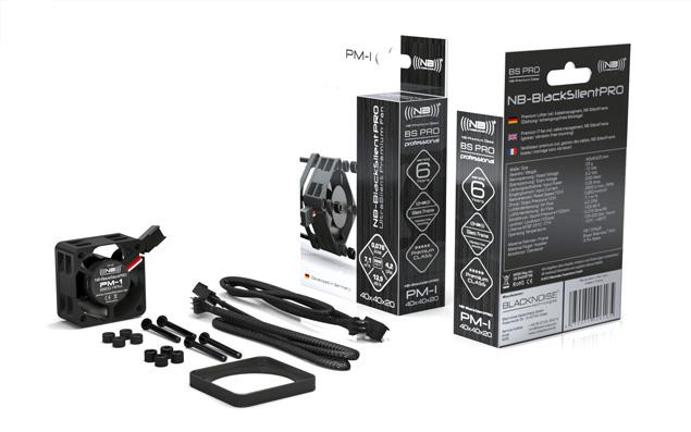 Noiseblocker BlackSilent Pro Fan PM1 - 40mm