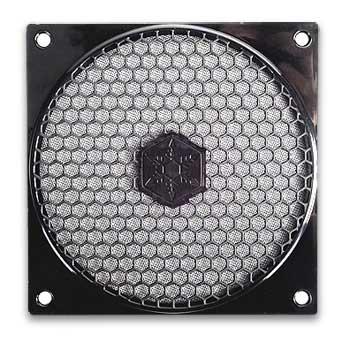 Silverstone 120mm ventilátor rács és filter kit SST-FF121