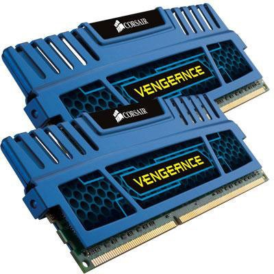 Corsair Vengeance 8 GB DDR3-1600 Kit (CMZ8GX3M2A1600C9B, Vengeance Blue)