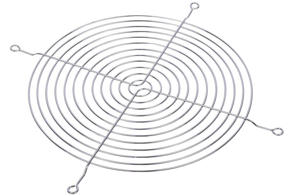 Aquatuning ventilátorrács axiális ventilátorhoz 180mm-es krómozott
