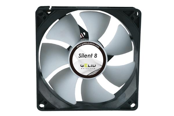 GELID  Low Noise fan-1600 RPM 18 dBA