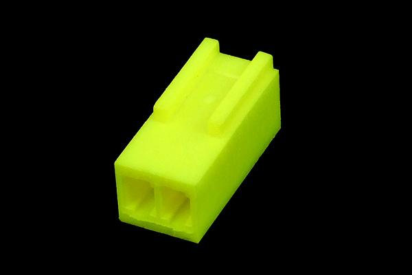 mod/smart Fan Power Connector 2Pin aljzat - UV Brite Green M-FAN-2F-UBG