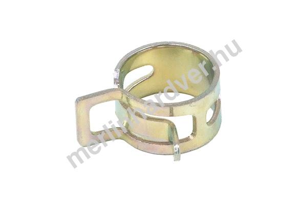 Tömlőbilincs rugós 13-15mm - ezüst