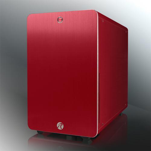 RAIJINTEK STYX Classic Micro-ATX ház - piros