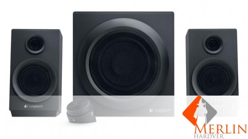 Logitech 2.1 Z333 multimédia hangszórók és mélyhangsugárzó fekete /980-001202/