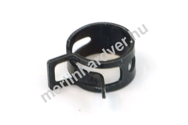 Tömlőbilincs rugós 13-15mm - fekete