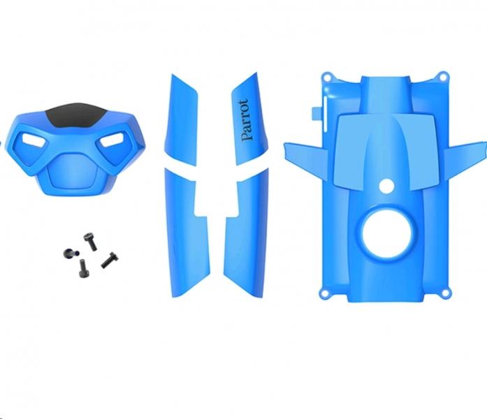 Parrot Rolling Spider kék fedél + csavarok