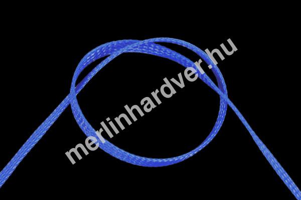 Phobya Flex Sleeve 6mm UV Kék - 1m