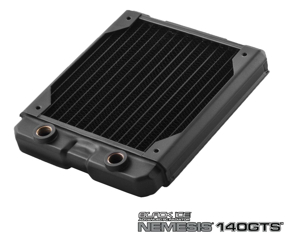 Hardware Labs - Black Ice Nemesis Radiator GTS 140 - Black
