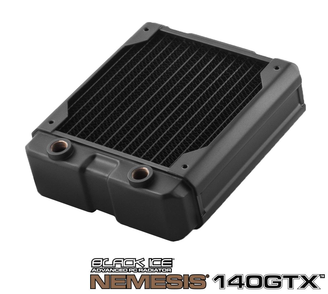 Hardware Labs - Black Ice Nemesis Radiator GTX 140 - Black