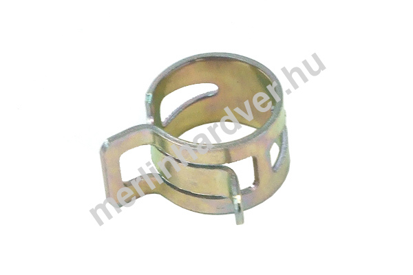 Tömlőbilincs rugós 15-17mm - ezüst