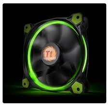 Thermaltake Riing 12, 120mm LED ventilátor - zöld