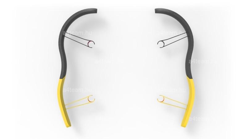 Parrot Drone Bebop - EPP Bumpers - sárga