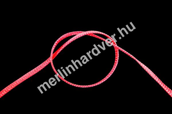 Phobya Flex Sleeve 6mm UV Piros - 1m  /darabolt/