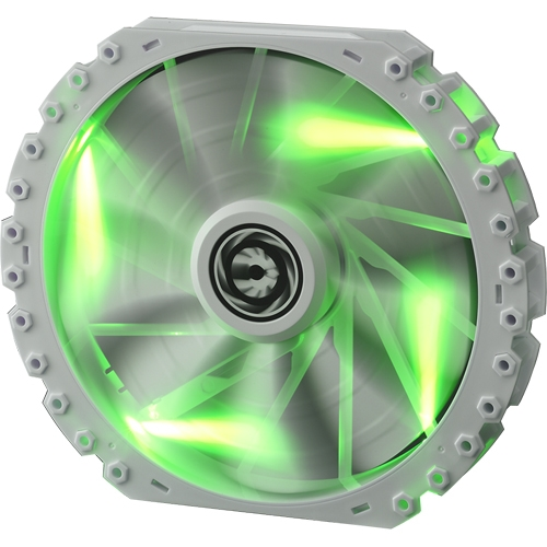 BitFenix Spectre PRO White 230mm Green LED