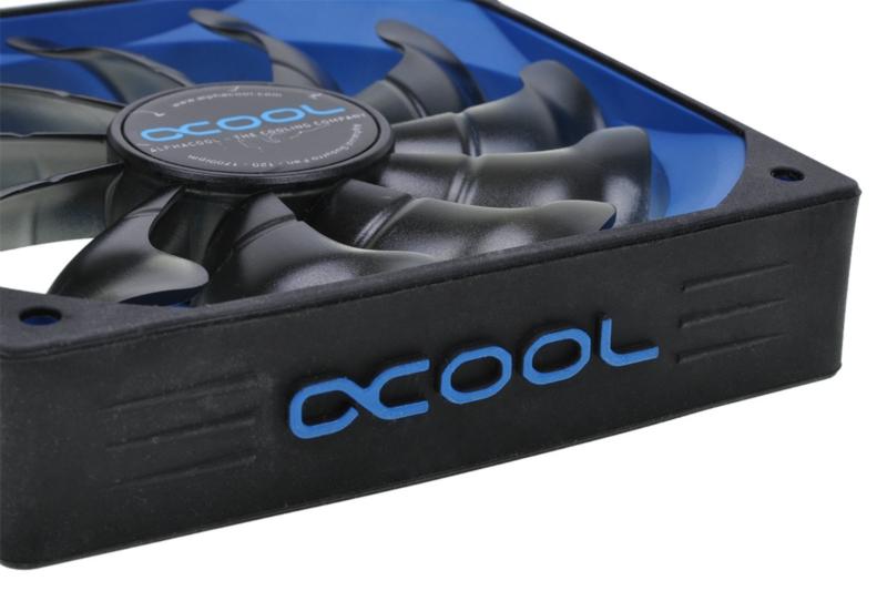 Alphacool Susurro Fan - 120 - Black / Blue Edition
