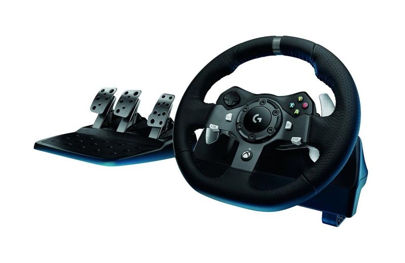 Logitech G920 Driving Force RACING WHEEL Xbox One konzolhoz és PC-hez /941-000123/