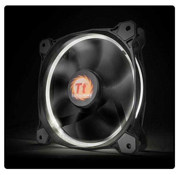 Thermaltake Riing 12, 120mm LED ventilátor - fehér