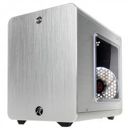 RAIJINTEK METIS PLUS Mini-ITX - ezüst ablakos /0R200056/