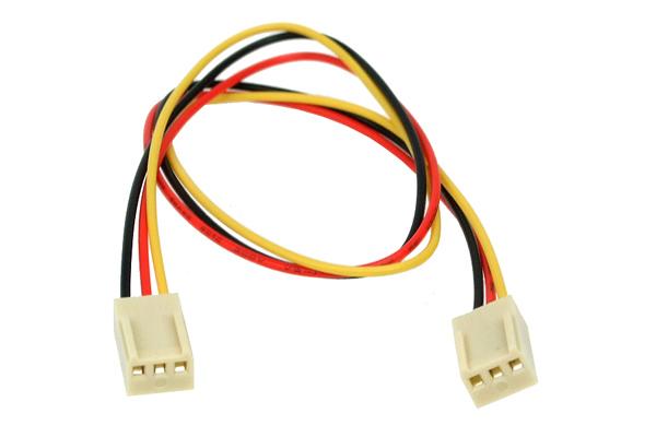 Phobya 12 V hosszabbító 3-pin rpm signal