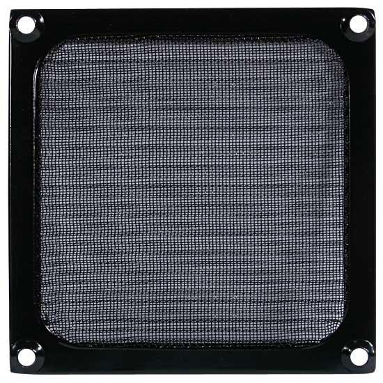 Cooltek ventilátor rács szűrővel 80 mm fekete