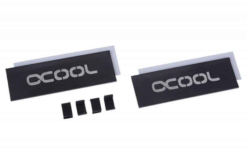 Alphacool HDX - M.2 SSD M01 - 80mm - Black /11310/