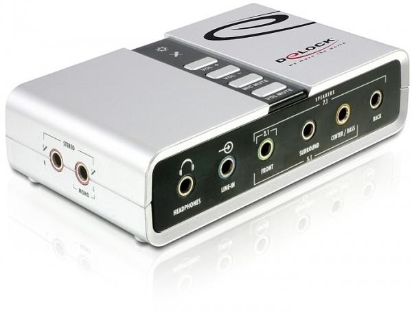 DeLock Sound box 7.1 USB (61803)