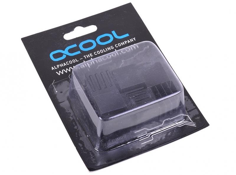 Alphacool GPU RAM alumínium hűtőbordák 15x15mm - fekete 10 db.