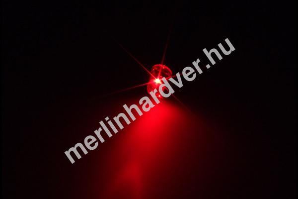 Alphacool LEDready 5mm ultra-fényes, G1/4 világítás modullal - Piros