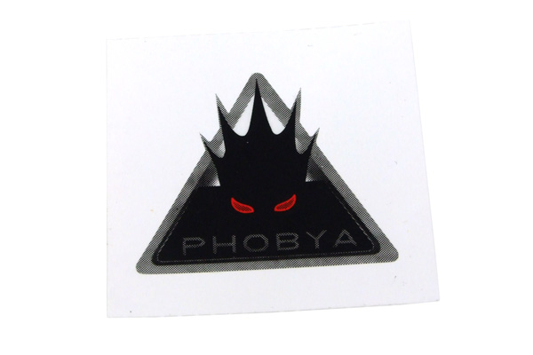Phobya-Logó matrica  1 db