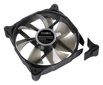 Noiseblocker Multiframe S-Series M12-PS Fan - 120mm PWM