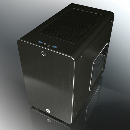 RAIJINTEK STYX Micro-ATX ház - fekete Window