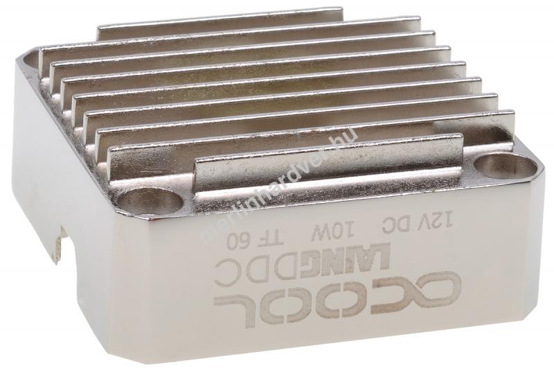 Alphacool Laing DDC alsó fém - ezüst nikkel
