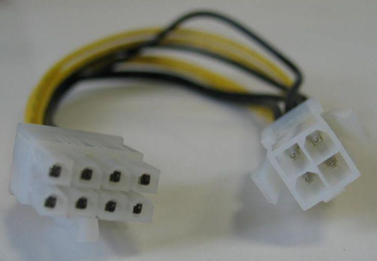 Kolink - Kolink 4 > 8 tűs tápkábel adapter (P4 alaplapi) (KKTP0408AL)